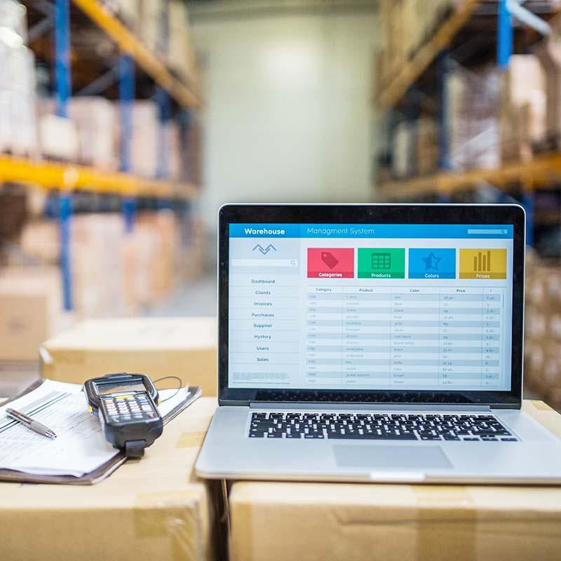 E-Commerce Beratung im Warenlager